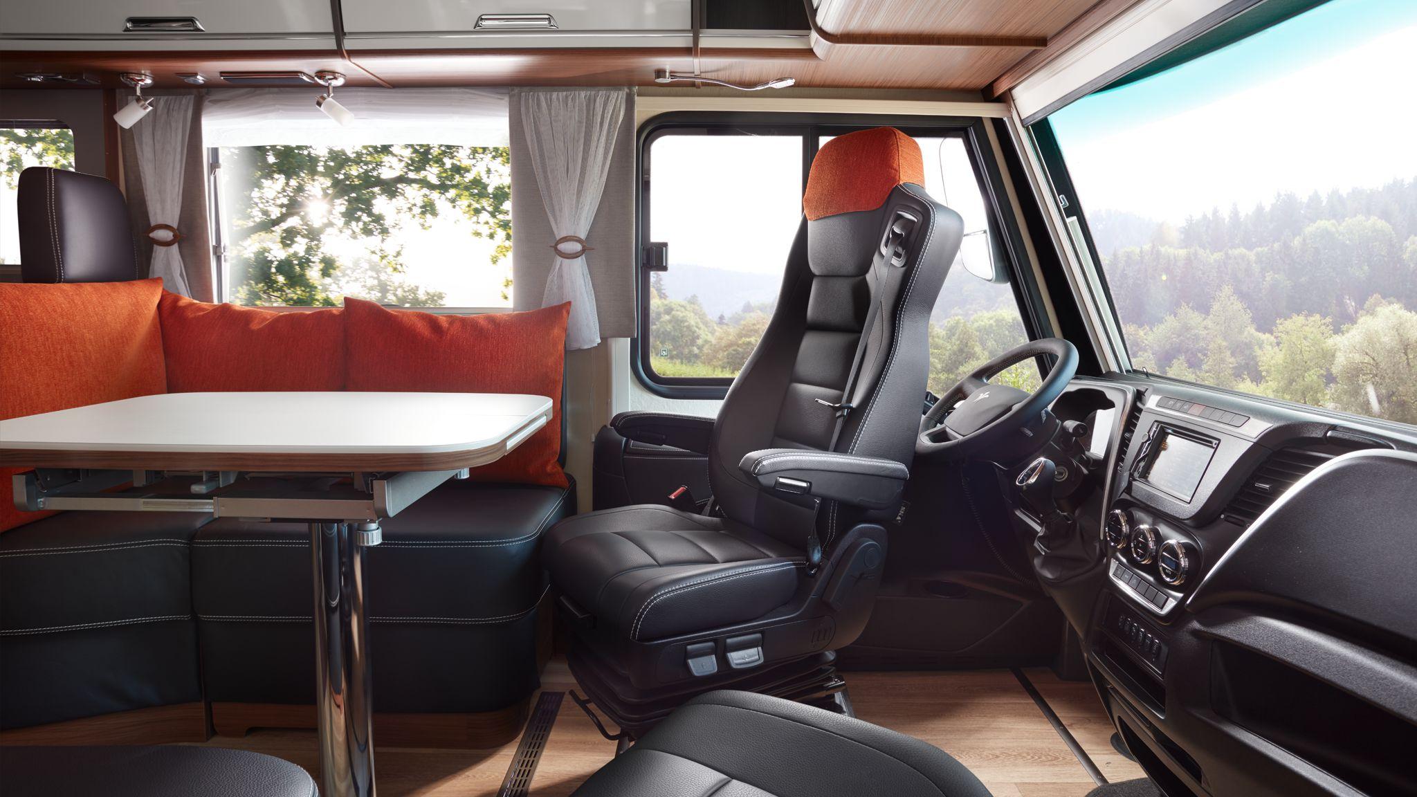 NIESMANN+BISCHOFF - Flair - Fahrersitz nach hinten gedreht
