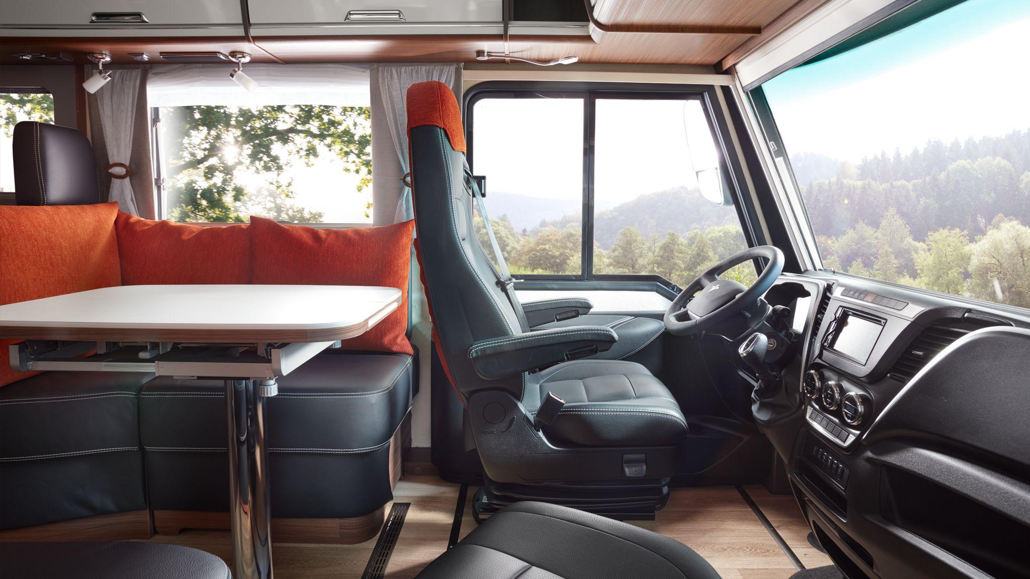 NIESMANN+BISCHOFF - Flair - Fahrersitz nach vorne gedreht