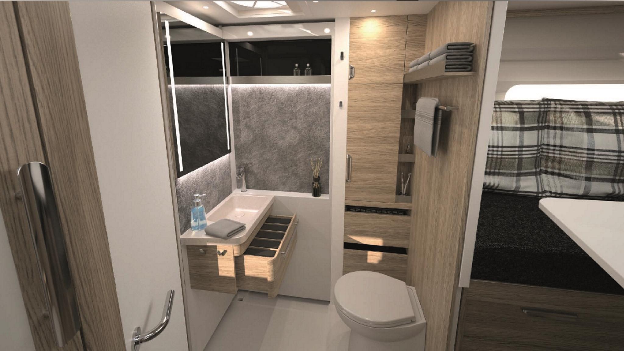 NIESMANN+BISCHOFF - Flair - Ein Flair und eine Weltpremiere Ein Kompaktbad der anderen Klasse mit verschiebbarer Wand
