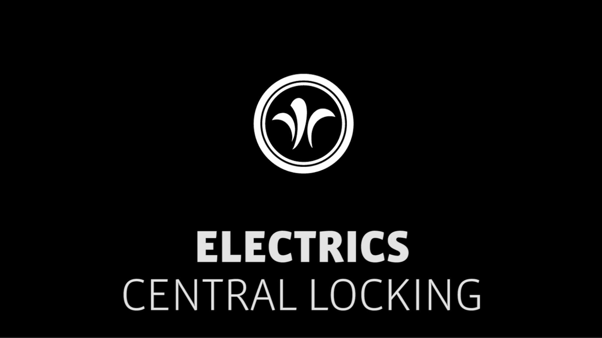 motorhome central locks // niesmann+bischoff - camper (model ARTO) // 2019 // EL5