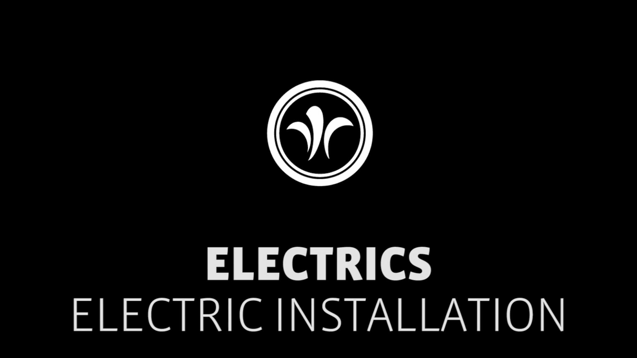 motorhome electrical-installation // niesmann+bischoff - camper (model ARTO) // 2019 // EL8