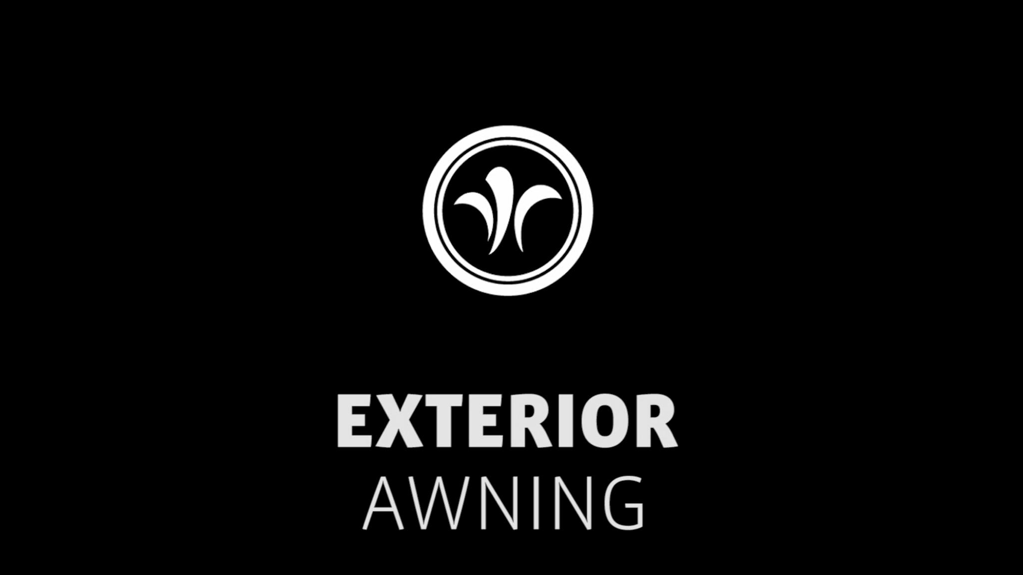 motorhome electrical awning // niesmann+bischoff - camper (model ARTO) // 2019 // EX2