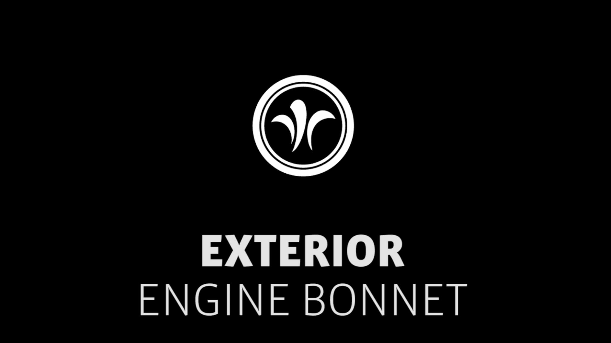 motorhome engine bonnet // niesmann+bischoff - camper (model ARTO) // 2019 // EX5
