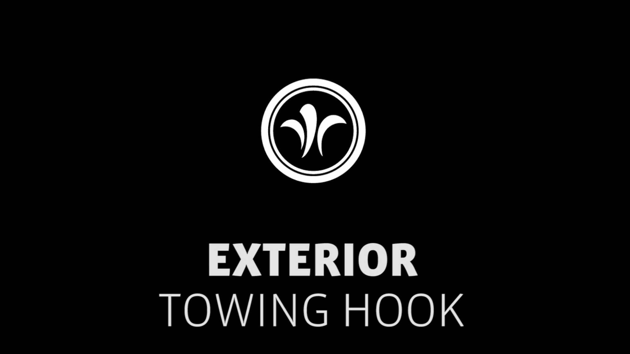 motorhome towing hook // niesmann+bischoff - camper (model ARTO) // 2019 // EX6