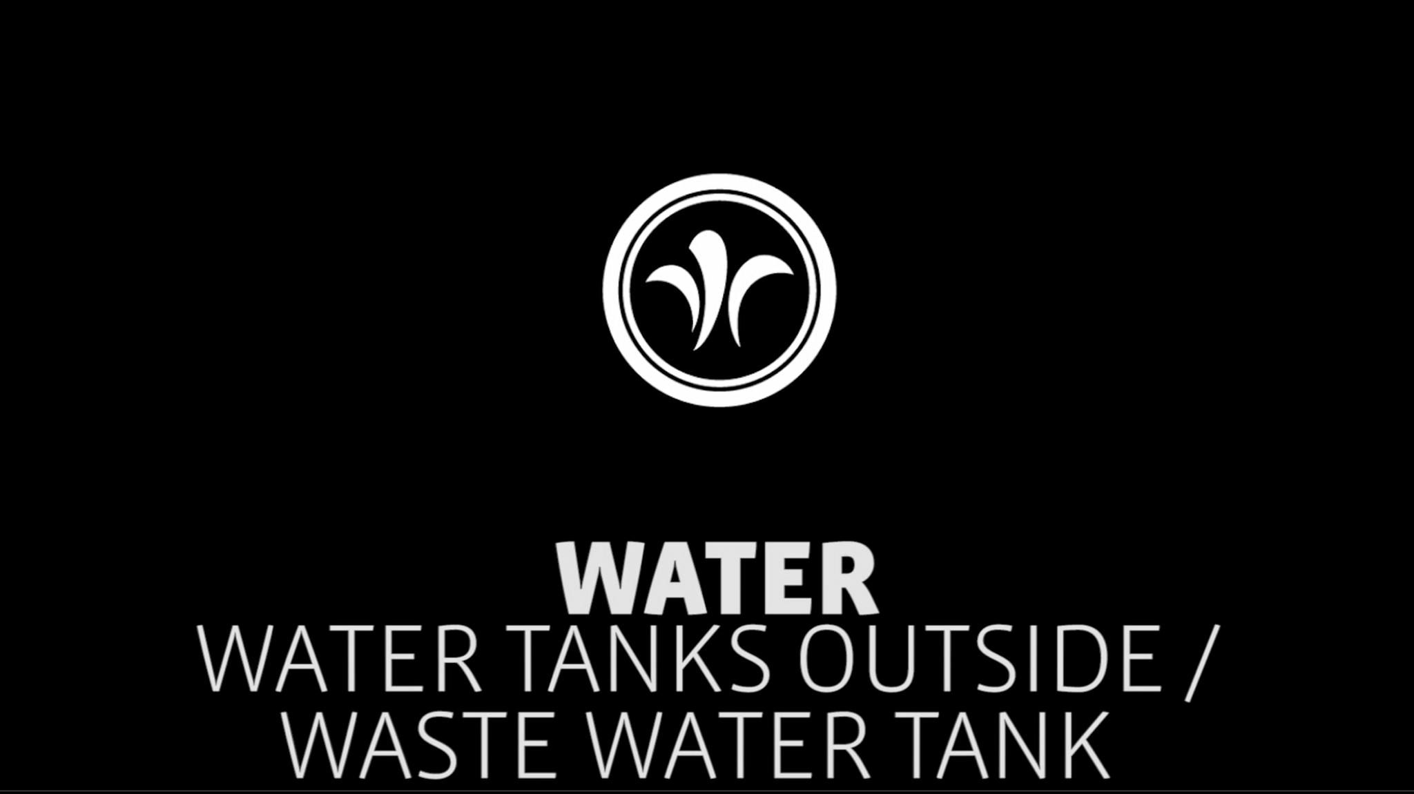 motorhome waste water tank // niesmann+bischoff - camper (model ARTO) // 2019 // WA5