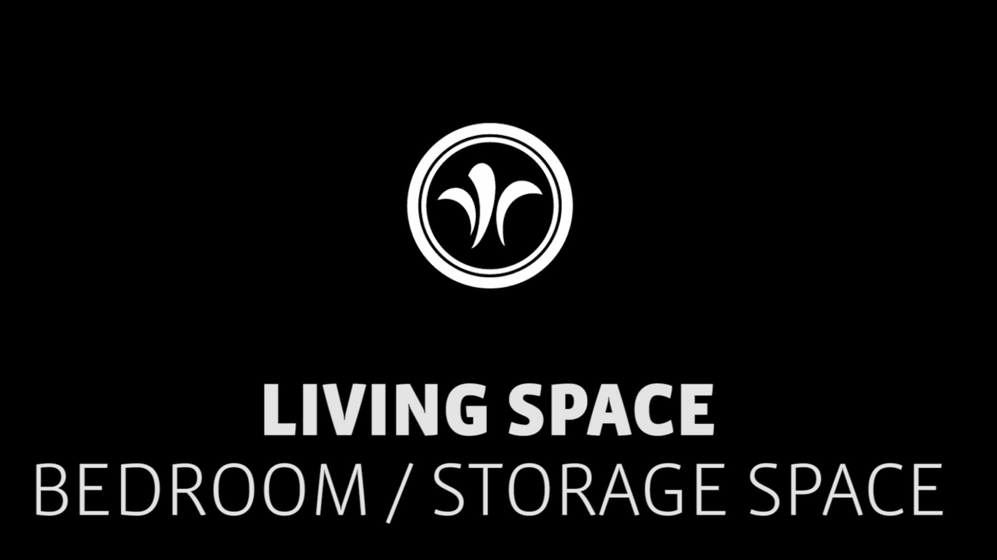 motorhome storage space in the bedroom // niesmann+bischoff - camper (model ARTO) // 2019 // WO2