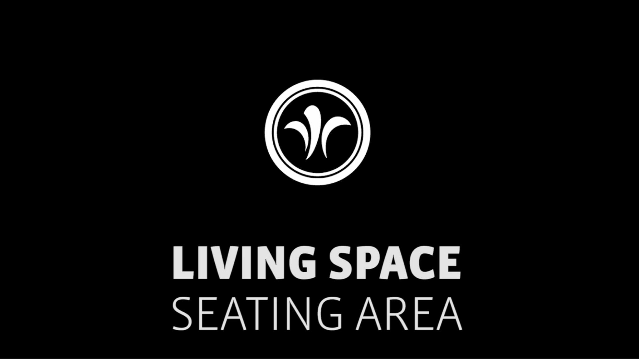 seating area in the motorhome // niesmann+bischoff - camper (model ARTO) // 2019 // WO6