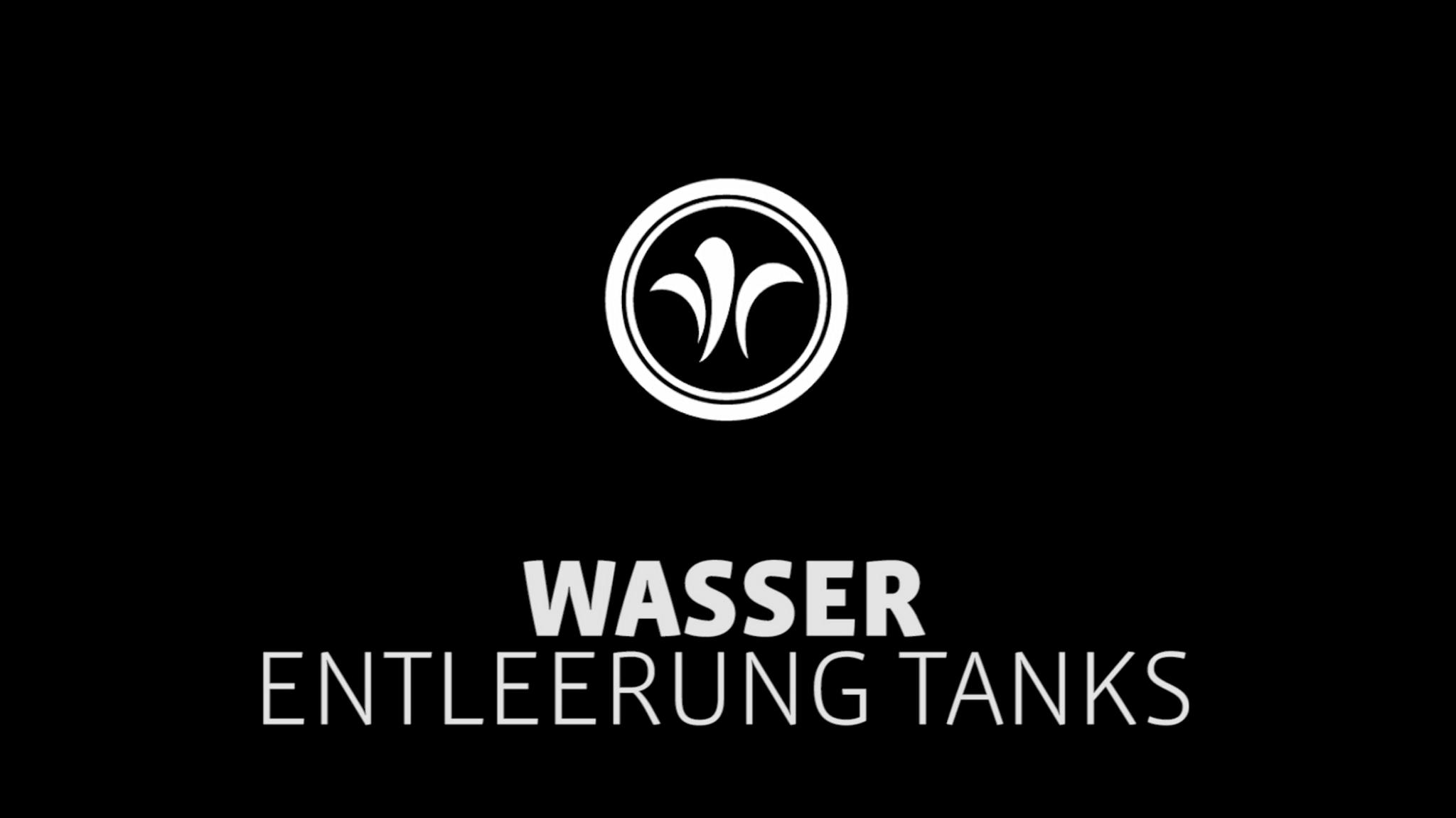 Wohnmobil Entleerung Tanks // Niesmann+Bischoff – Luxus Wohnmobil (Modell FLAIR) // 2019 // WA7