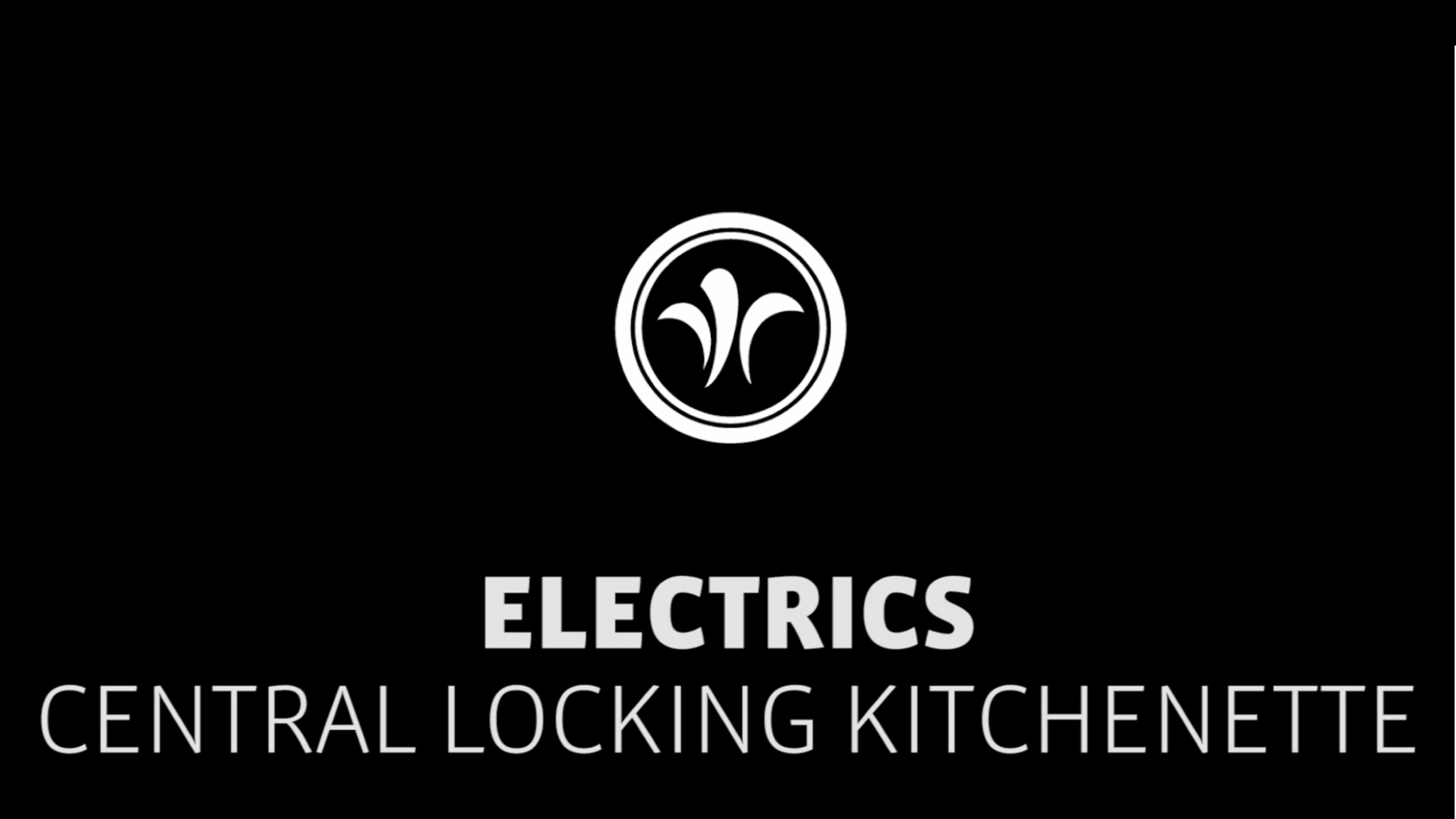 motorhome central lock kitchen // niesmann+bischoff - luxury motorhome (model FLAIR) // 2019 // EL6