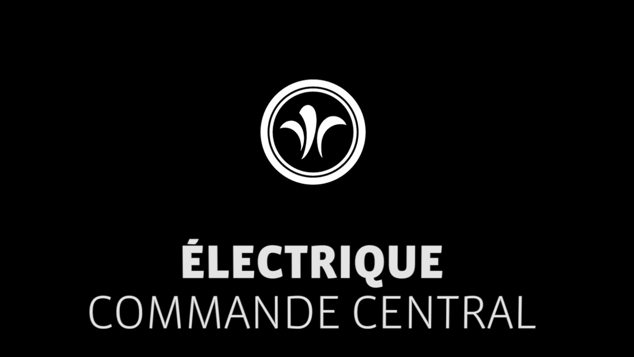 Commande centrale de camping-car // Niesmann+Bischoff - Camping-car de luxe (FLAIR) // 2019 // EL1
