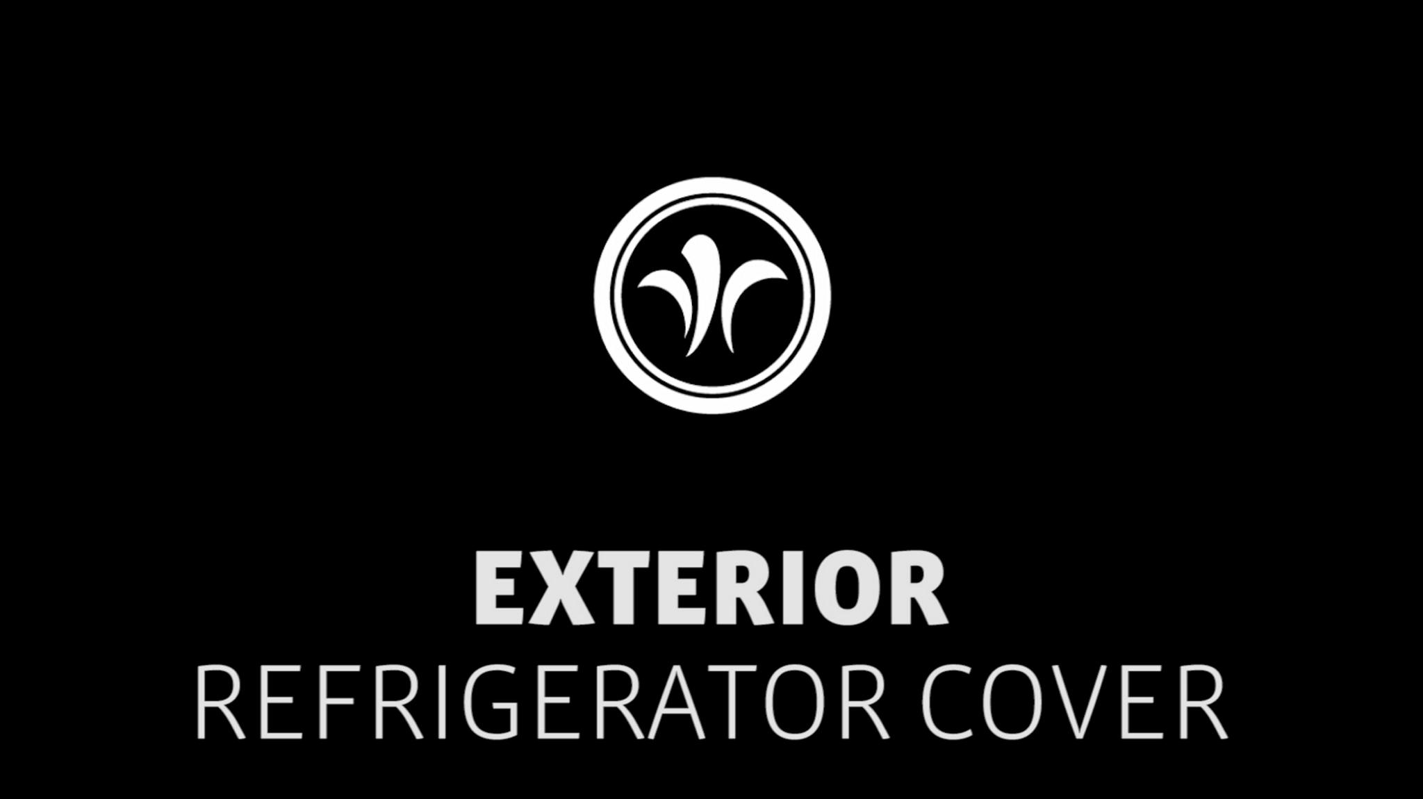 motorhome refrigerator cover // niesmann+bischoff - luxury motorhome (model FLAIR) // 2019 // EX7