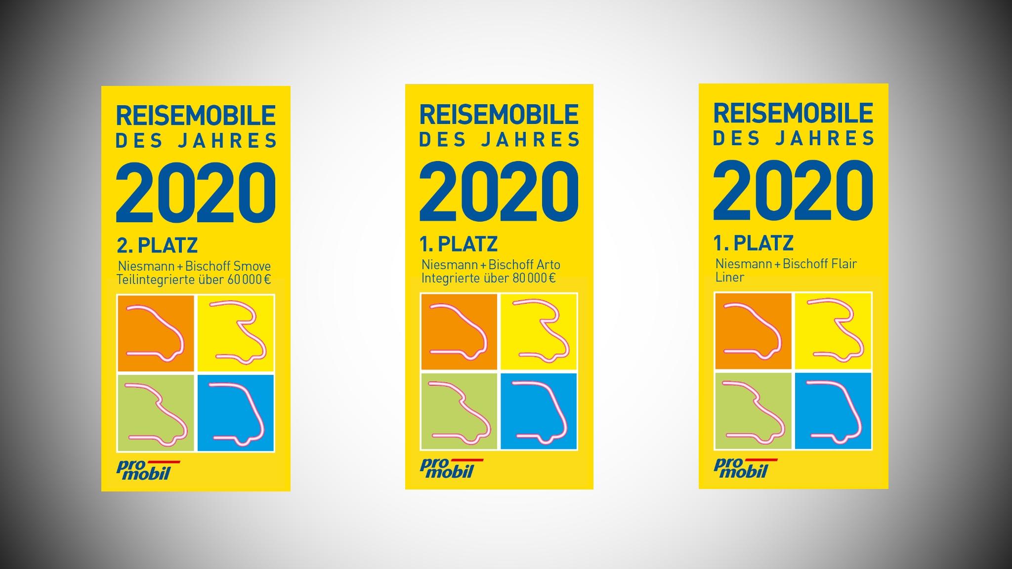 Niesmann+Bischoff - Promobil Leserwahl - Reisemobil des Jahres 2020